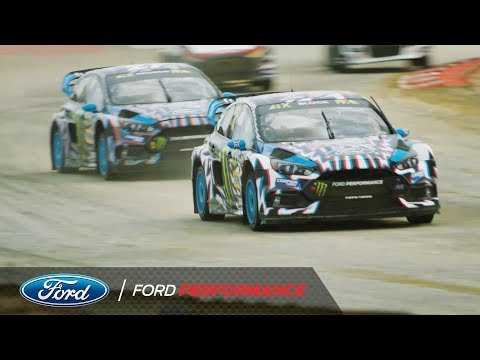 Hoonigan Racing Division And Ford Focus RS RX France Recap | FIA World Rallycross | Ford Performance