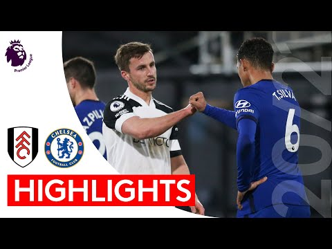Fulham 0-1 Chelsea | Premier League Highlights | Fulham put up valiant fight with ten men