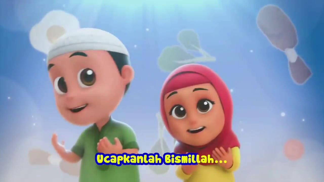 Baru Kartun Islami Nusa Dan Rara Jangan Asal Makan Youtube