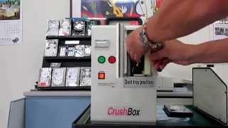 Nittoh Crush-box Compact Hard Drive Destroyers