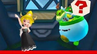 Bowser Jr Vs Bowsette - New Super Mario Bros U Deluxe