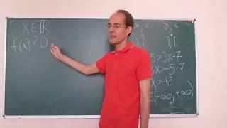 Математика это просто. Линейные и квадратные неравенства 1.
