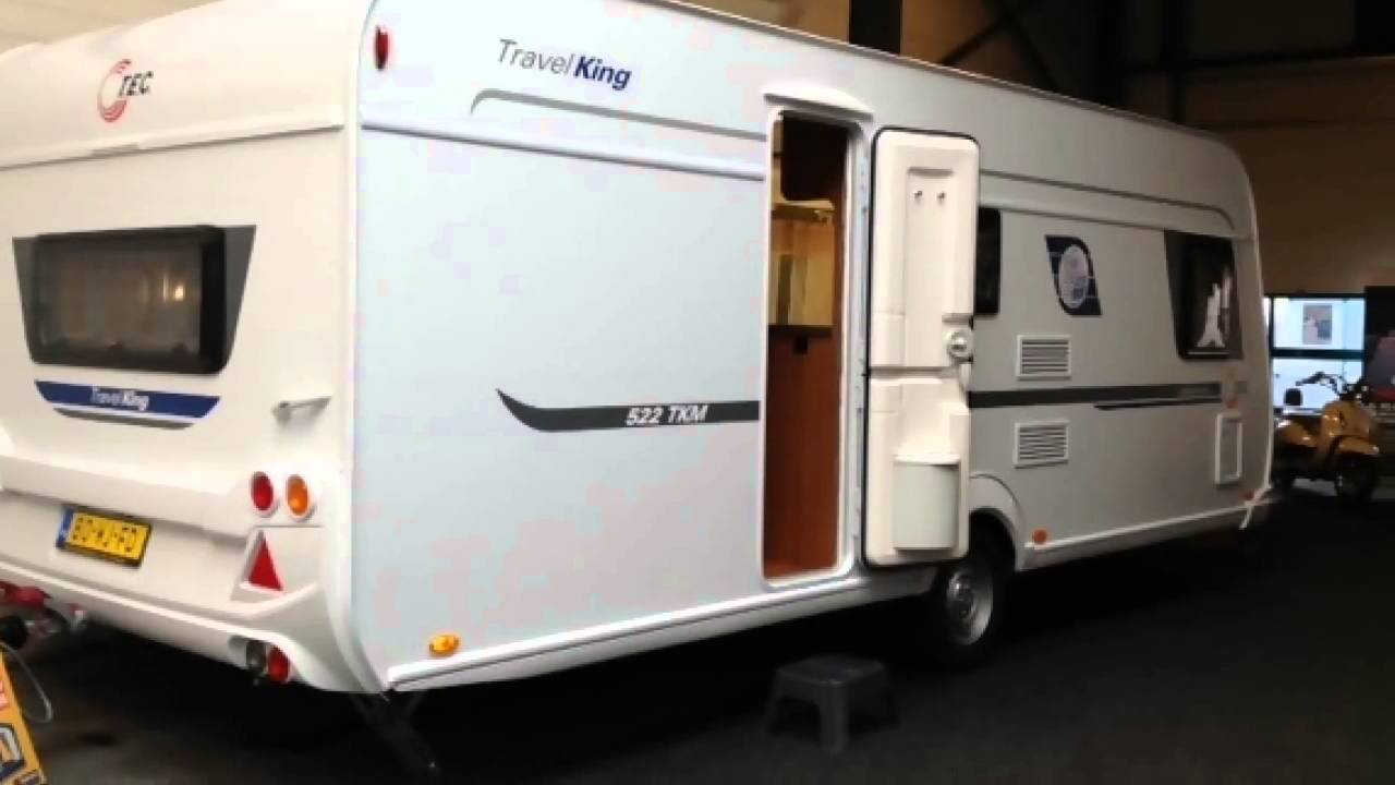 Caravan te koop: tec travelking 522 tkm 3 stapelbedden 2013   youtube