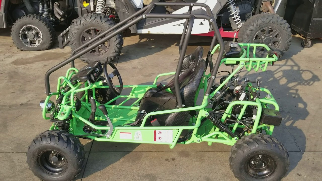 TaoTao GK-110 Kids Go Kart | 110cc Automatic with Reverse - Gumby Edition