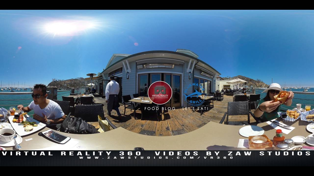Virtual reality food blog featuring bluewater grill avalon virtual reality food blog featuring bluewater grill avalon catalina island freerunsca Images