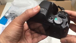 Canon PowerShot SX540 HS Good To Make YouTube Video? Unboxing & Set Up (18:9)