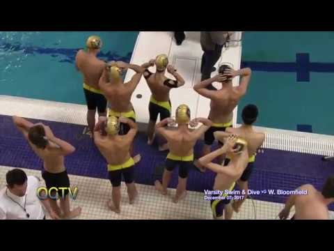 Varsity Swim & Dive vs. West Bloomfield 12-07-17