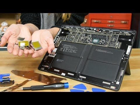 The Surface Pro X might be the most repairable tablet ever