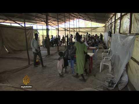 S Sudan children refugees seek education