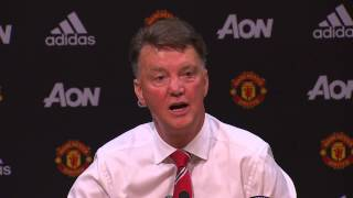 "Louis van Gaal sings The Beatles ""When I"