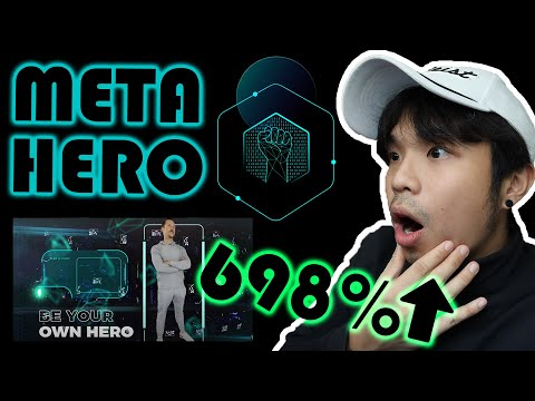 METAHERO HOT NEW COIN founded by BILLIONAIRE - Creates Metaverse Avatars By Scanning