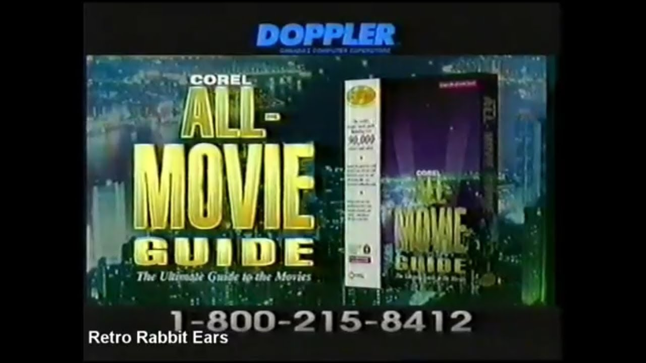 Corel All Movie Guide TV Commercial 1996