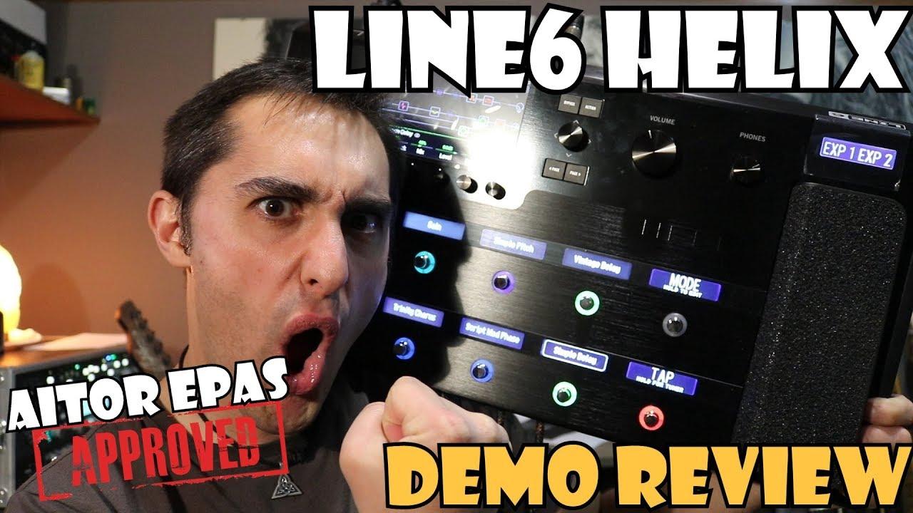 line6 helix demo review en espa ol youtube. Black Bedroom Furniture Sets. Home Design Ideas