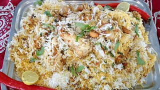 outdoor recipe( Chicken Shahi biryani) on my subscriber demand