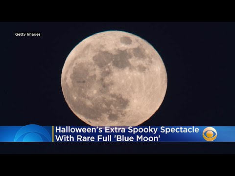 Halloween-Brings-Extra-Spooky-Spectacle-With-Rare-Full-Blue-Moon