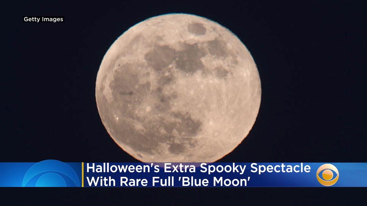 Halloween Brings Extra Spooky Spectacle With Rare Full 'Blue Moon' - CBS Miami