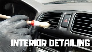 Interior Detailing-How to clean car interior detailing!