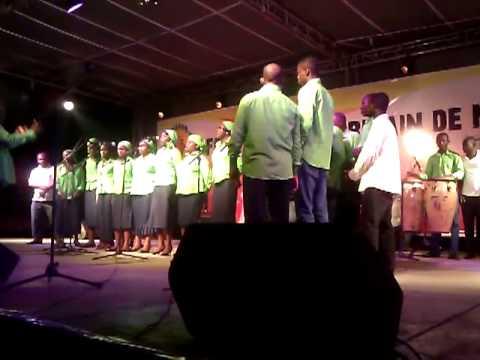 La chorale St Pie X de Gamboma
