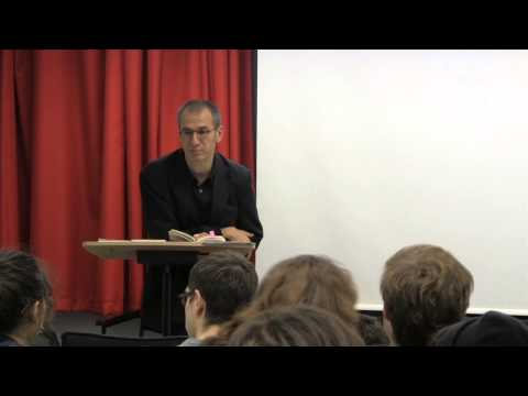 Poetry reading by Eugene Ostashevsky