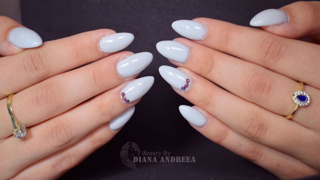 How to: Gel Nails Refill - Light Elegance | BeautybyDianaAndreea ...