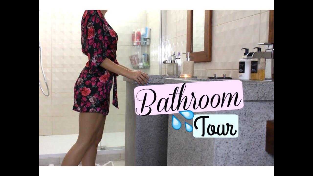 la d coration de ma salle de bain youtube. Black Bedroom Furniture Sets. Home Design Ideas