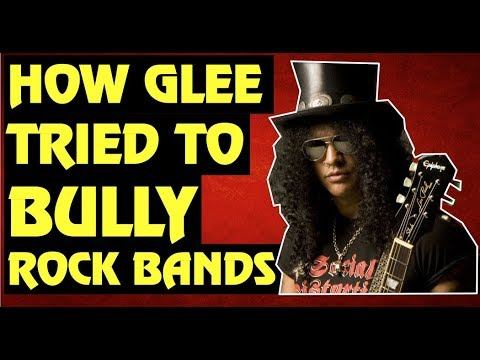 GLEE  How the Show Tried to Bully Foo Fighters, Guns N' Roses & Kings of Leon