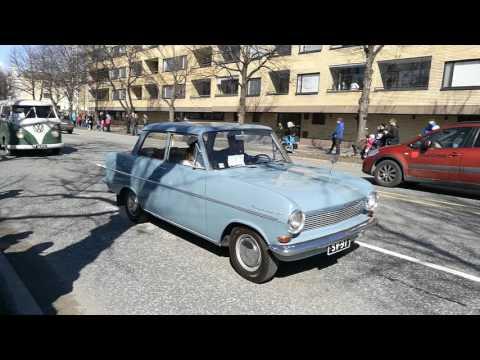 Vappu 2017 / Joensuun vanhat autot