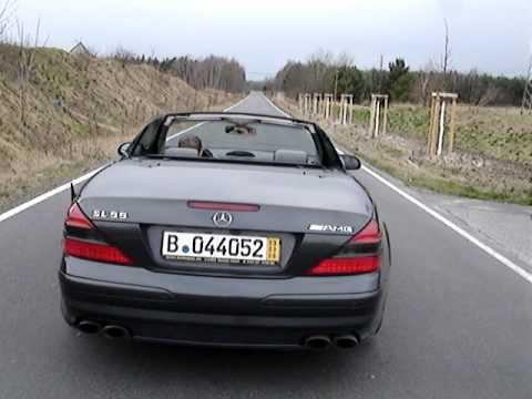 mercedes sl 55 amg kickdown acceleration v8 kompressor. Black Bedroom Furniture Sets. Home Design Ideas