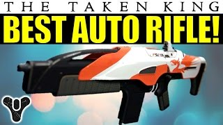 Destiny: BEST AUTO RIFLE I've found In The Taken King! | SUROS ARI-45