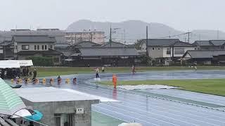 20171015 大牟田秋季記録会 男子4組