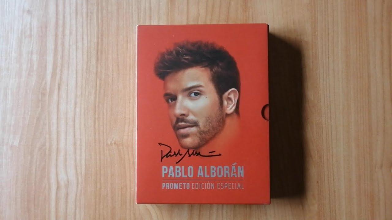 Pablo Alborán Prometo Edición Especial Unboxing Youtube