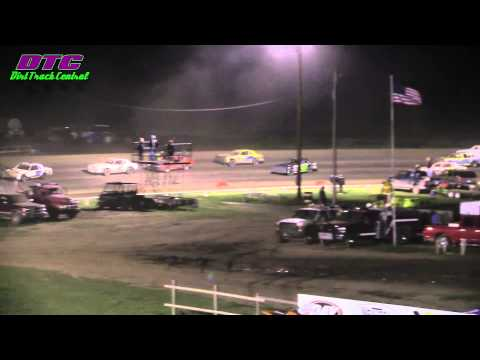 IMCA Hobby Stock  A Feature Wakeeney Speedway 5-25-15
