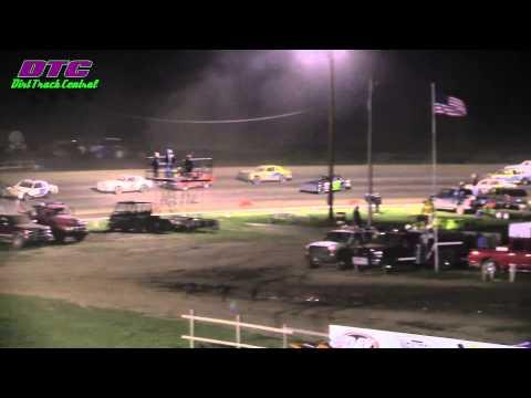 IMCA Hobby Stock  A Feature Wakeeney Speedway 5-25-15