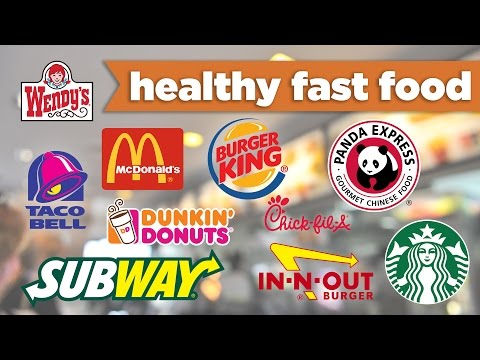 Healthy Fast Food Meal Choices! Under 500 calories – McDonalds, Subway, & more! - Mind Over Munch