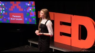Breaking down the stigma of mental health | Theresa Kerouac | TEDxLFHS