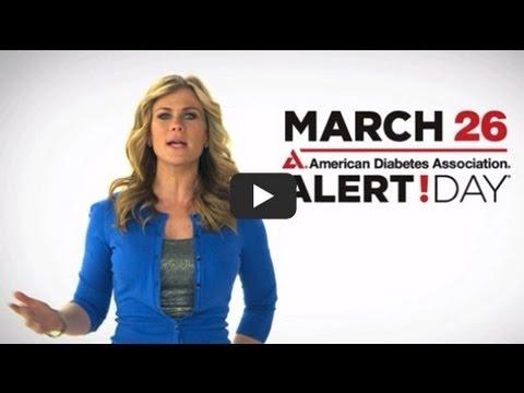 American Diabetes Association Alert Day - Walgreens Video Featuring Alison Sweeney (short)