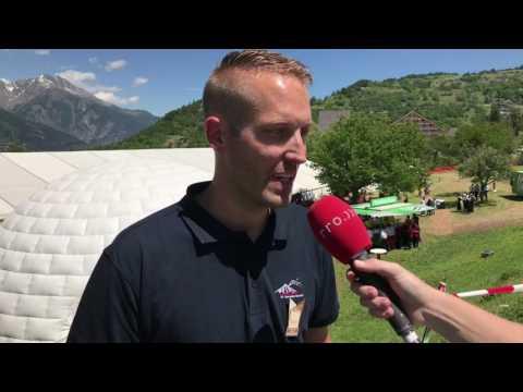 Erich Pfammatter, OK-Präsident Oberwalliser Musikfest in Unterbäch