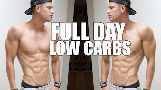 Full Day Of Eating LOW CARB Edition - Shredding Body Fat #VLOG41