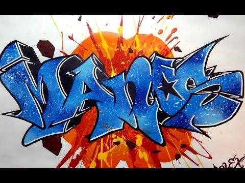 TUTO : Faire un graffiti à la bombe ! (Partie 3) [HD]