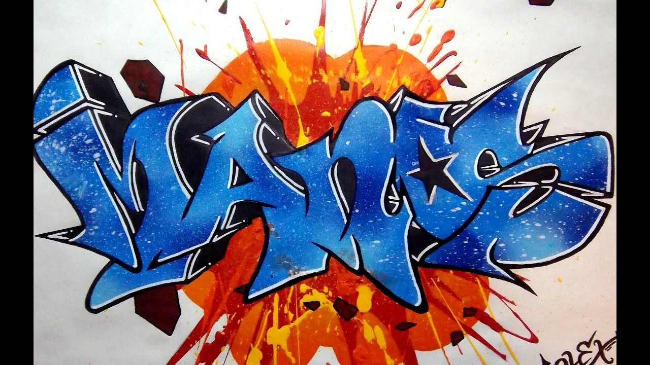 Tuto faire un graffiti la bombe partie 3 hd youtube - Bombe de graffiti ...
