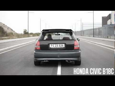 Honda Civic EK4 B18C 238hp – Acceleration, flyby, great sound