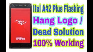tel A42 Plus FlashingHang On Logo and Dead Solution 100 Working By Tech Babul