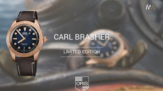 MyWatchTV - ORIS Carl Brashear Limited Edition (bronze case)(, 2016-04-13T11:25:18.000Z)
