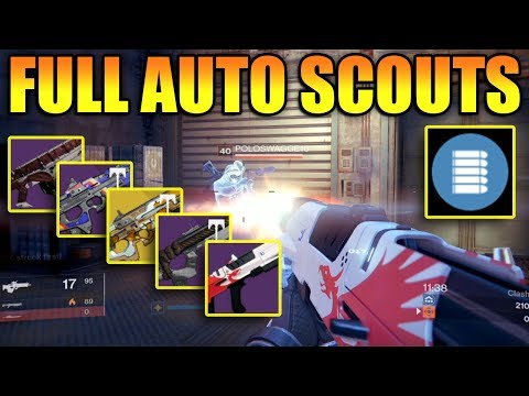 Top Full Auto PVP Scout Rifles - DIS-47 Plus More!!!
