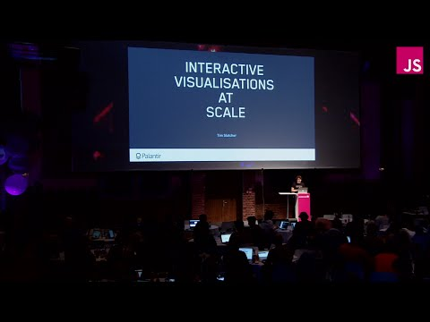 Interactive Visualisations at Scale