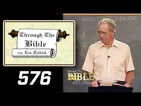 [ 576 ] Les Feldick [ Book 48 - Lesson 3 - Part 4 ] Hebrews 4:12-16  b