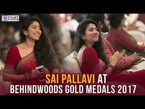 Sai Pallavi At Behindwoods Gold Medals 2017|Ilayathalapathy Vijay|Atlee|Behindwoods Gold Medals 2017