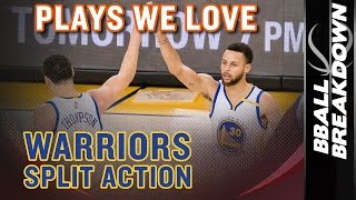 Warriors Split Action: Plays We Love