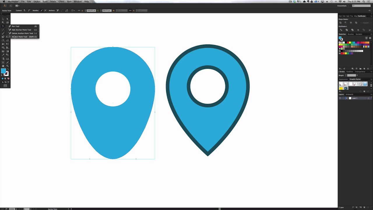 How To Create A Location Pin Icon