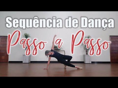 Sequencia de Dança passo a passo